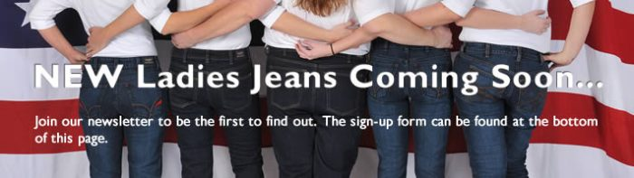 Ladies Jeans Banner