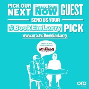 #BookEmLarry